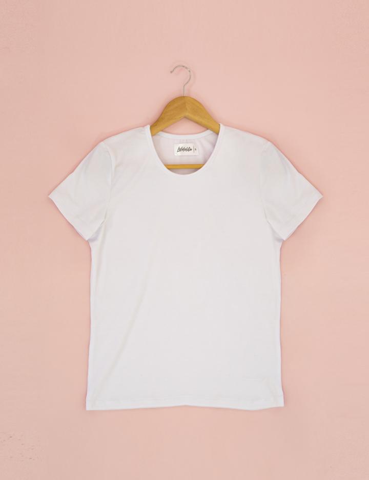 t shirt basica blanca