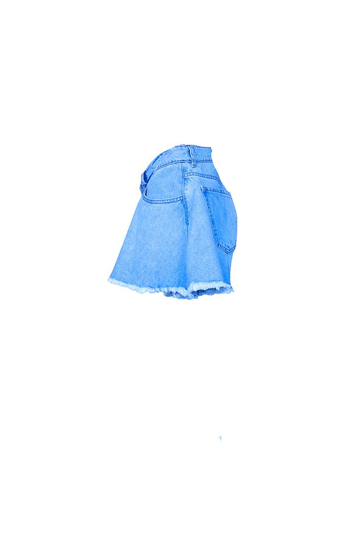 WEB 0017 denim shorts c