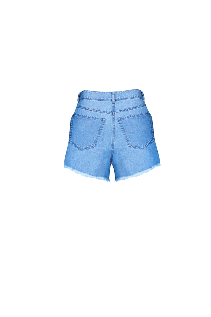 WEB 0018 denim shorts b